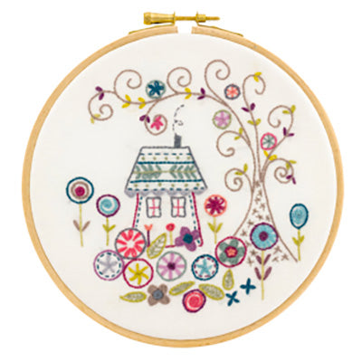 French Hand Embroidery Kit - The Enchanted Forest