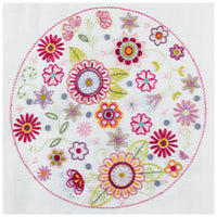 French Hand Embroidery Kit - Mandala No. 7