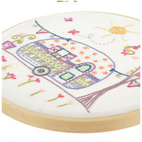 French Hand Embroidery Kit - Auntie Suzanne's Caravan
