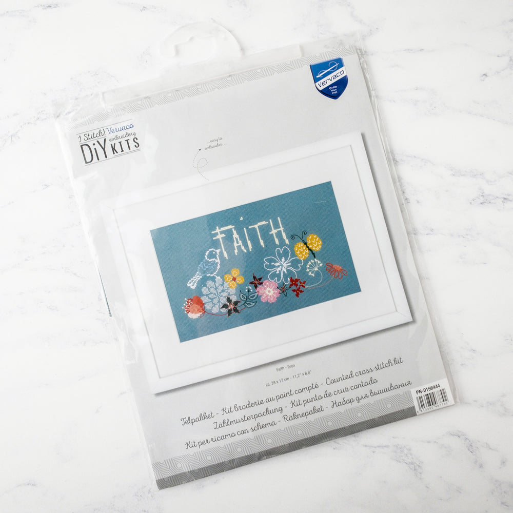 Faith Cross Stitch Kit