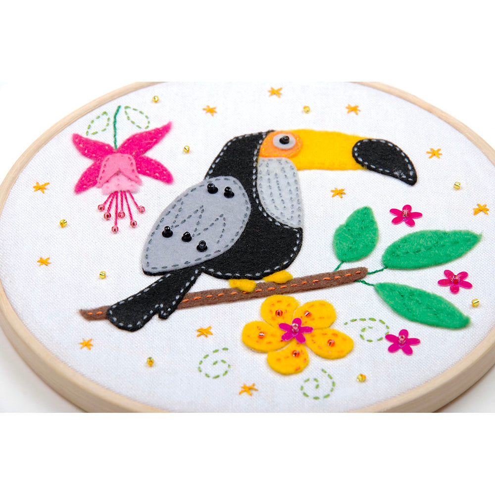 Felt Craft Kit for Kids - Toucan