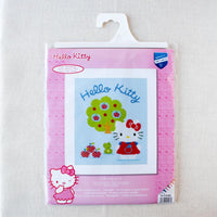 Hello Kitty and Apple Tree Cross Stitch Kit (30% OFF)