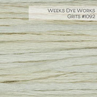 Weeks Dye Works Embroidery Floss - Grits #1092