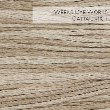 Weeks Dye Works Embroidery Floss - Cattail #1107