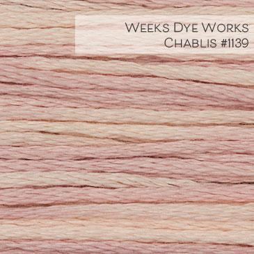 Weeks Dye Works Embroidery Floss - Chablis #1139