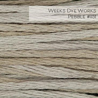 Weeks Dye Works Embroidery Floss - Pebble #1151