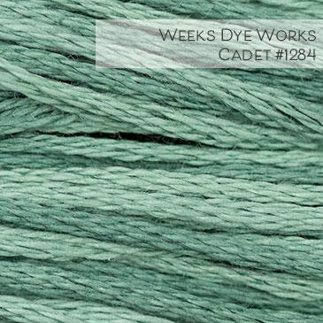 Weeks Dye Works Embroidery Floss - Cadet #1284