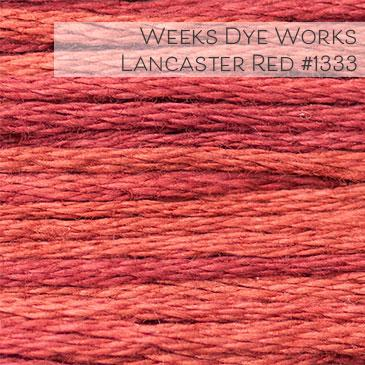 Weeks Dye Works Embroidery Floss - Lancaster Red #1333