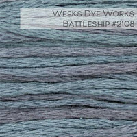 Weeks Dye Works Embroidery Floss - Battleship #2108