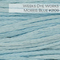 Weeks Dye Works Embroidery Floss - Morris Blue #2109