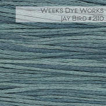 Weeks Dye Works Embroidery Floss - Jay Bird #2110