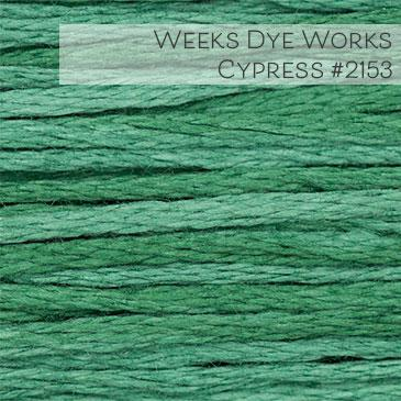 Weeks Dye Works Embroidery Floss - Cypress #2153