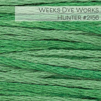 Weeks Dye Works Embroidery Floss - Hunter #2156
