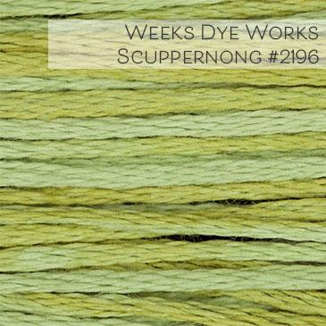 Weeks Dye Works Embroidery Floss - Scuppernong #2196
