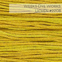 Weeks Dye Works Embroidery Floss - Lichen #2208