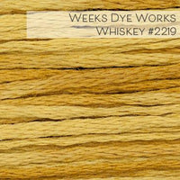 Weeks Dye Works Embroidery Floss - Whiskey #2219