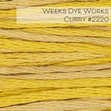 Weeks Dye Works Embroidery Floss - Curry #2220