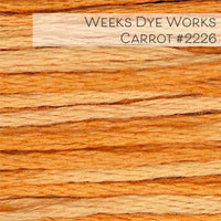 Weeks Dye Works Embroidery Floss - Carrot #2226