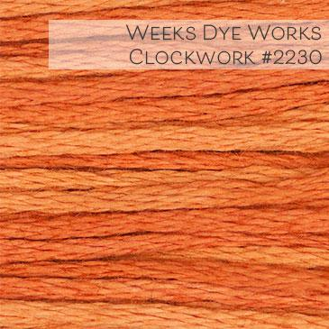 Weeks Dye Works Embroidery Floss - Clockwork #2230