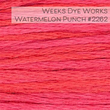 Weeks Dye Works Embroidery Floss - Watermelon Punch #2262