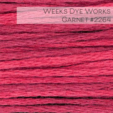 Weeks Dye Works Embroidery Floss - Garnet #2264