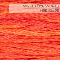 Weeks Dye Works Embroidery Floss - Fire #2268