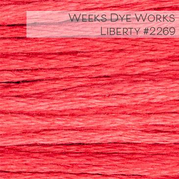 Weeks Dye Works Embroidery Floss - Liberty #2269