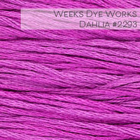 Weeks Dye Works Embroidery Floss - Dahlia #2293