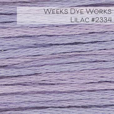 Weeks Dye Works Embroidery Floss - Lilac #2334