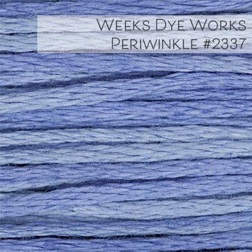 Weeks Dye Works Embroidery Floss - Periwinkle #2337