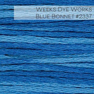 Weeks Dye Works Embroidery Floss - Blue Bonnet #2339