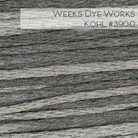 Weeks Dye Works Embroidery Floss - Kohl #3900