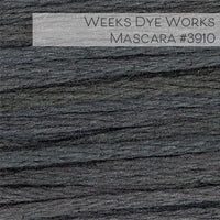 Weeks Dye Works Embroidery Floss - Mascara #3910