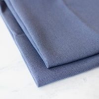 Denim Blue Evenweave Cross Stitch Fabric - 28 count