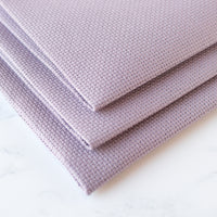 French Country Purple Aida Cross Stitch Fabric