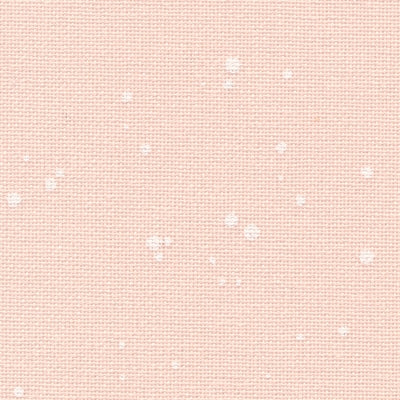 Evenweave Cross Stitch Fabric - Powder Pink Splash