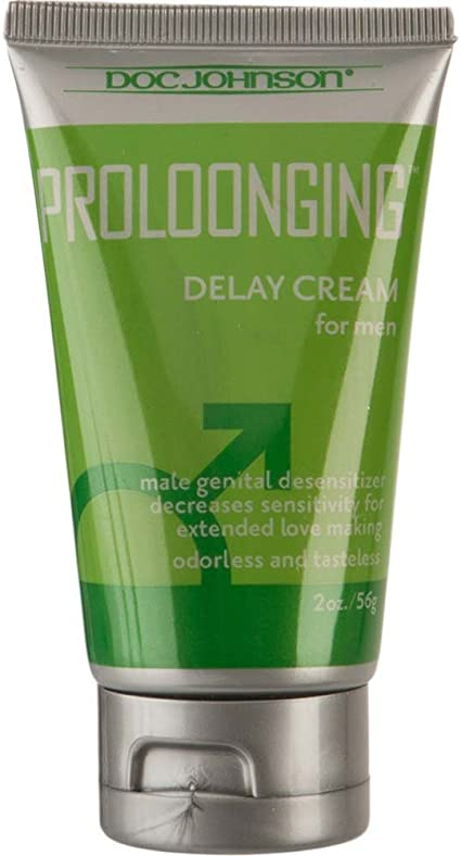 PROLOONGING - DELAY CREAM FOR MEN GREEN/SILVER
