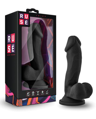 Blush Ruse Juicy Negro - Dildos KinkyToys Mx