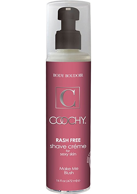 Coochy Shave Créme-Make Me Blush 16 Oz