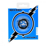 Rock Rings Cocktagon L Black