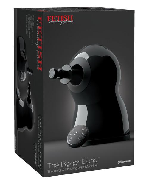 Máquina Sexual Fetish Fantasy Series the Bigger Bang Thrusting & Rotating - Vibradores KinkyToys Mx