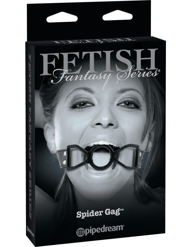 Spider Gag Black - Fetish Fantasy Series Limited Edition