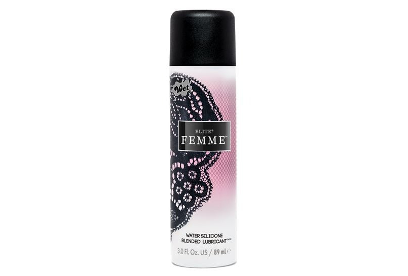 Wet Elite Femme Water Silicone Blend Lubricant 3 Oz