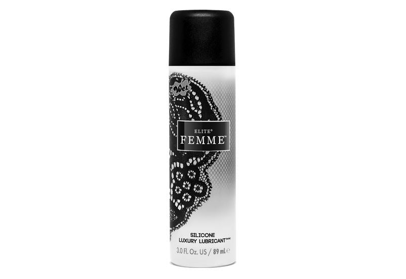 Wet Elite Femme Pure Silicone Luxury Lubricant 3 Oz