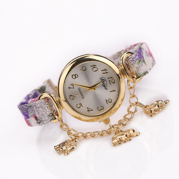 Vintage Womens Elephant Watch