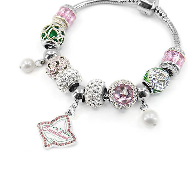 AKA Regional Charm Bracelet (More Regions Available , Pre-order, Ships 4/30)