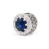 Fancy Radiant Charm in Blue