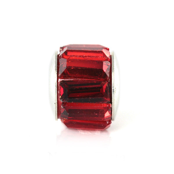 Red Long Crystal Charm