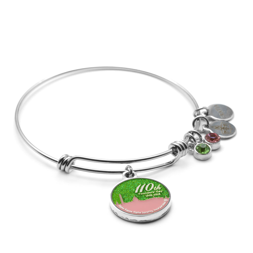 110th Founders' Day Wire Bracelet