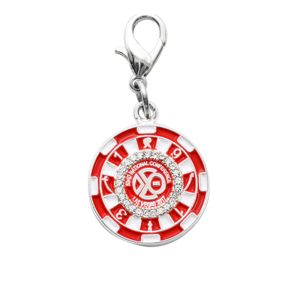 DST Casino Chip Charm